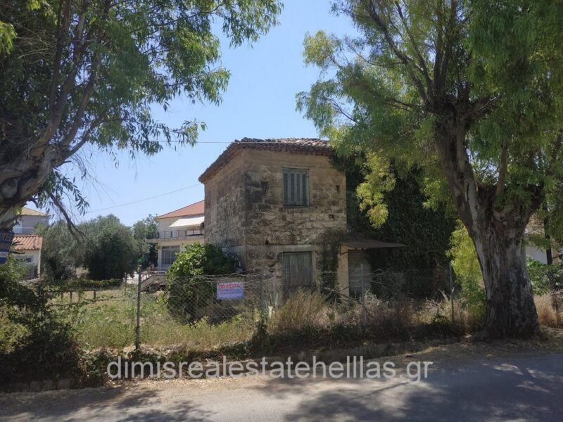 Old stonehouse for sale in Chora Messinia