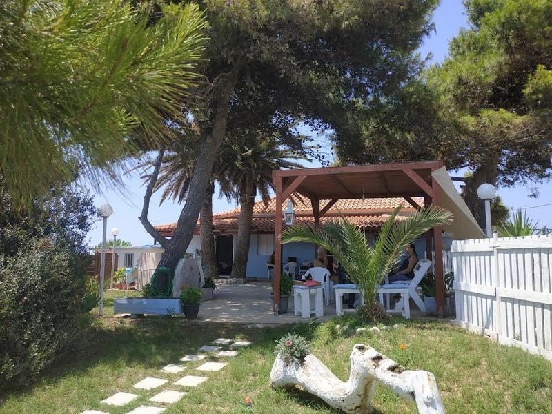 Haus am Meer zum verkaufen in Vromoneri Messenien Peloponnes